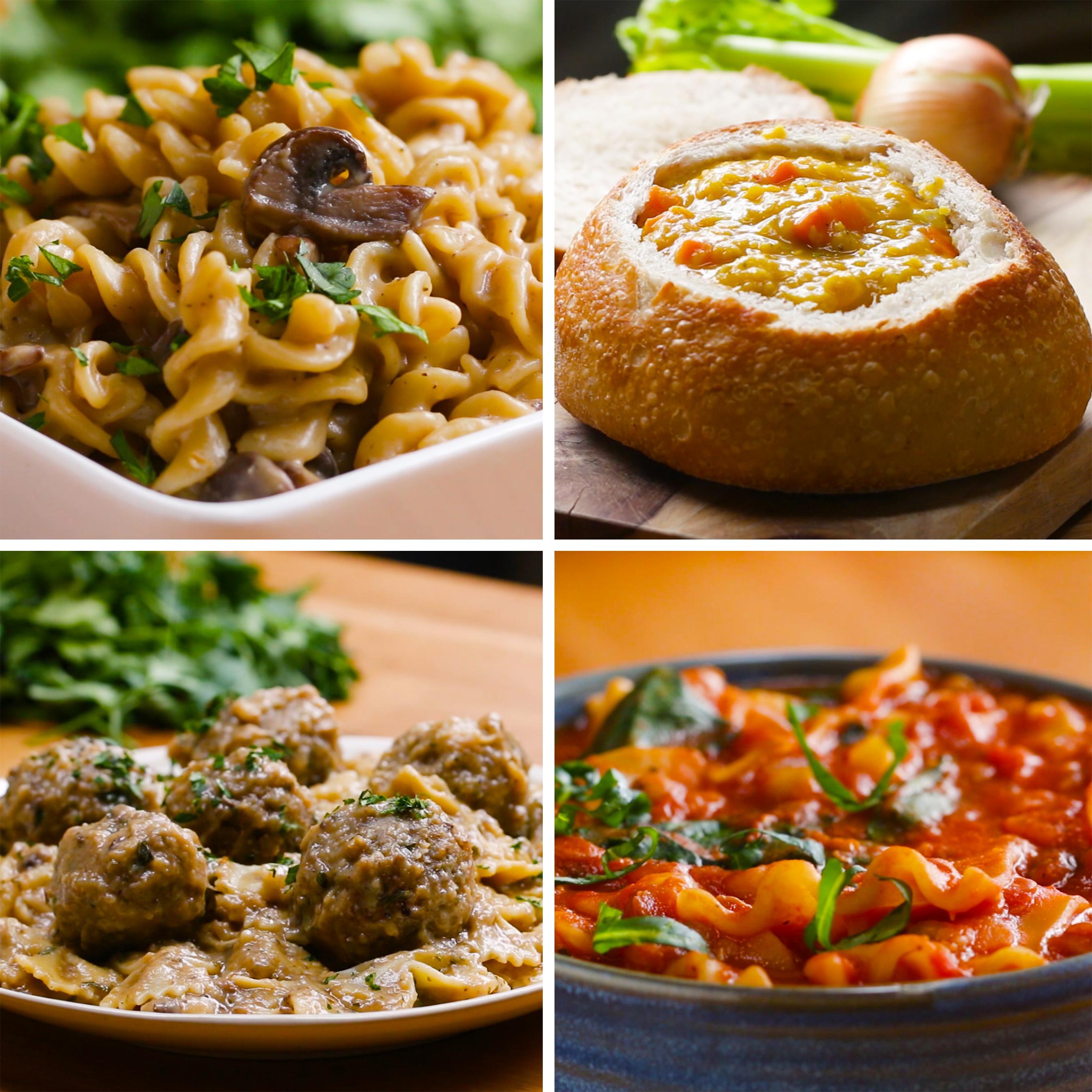 Easy Vegan One-Pot Dinners