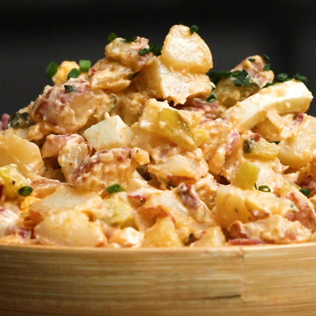 Hearty Potato Salad Recipe By Tasty
