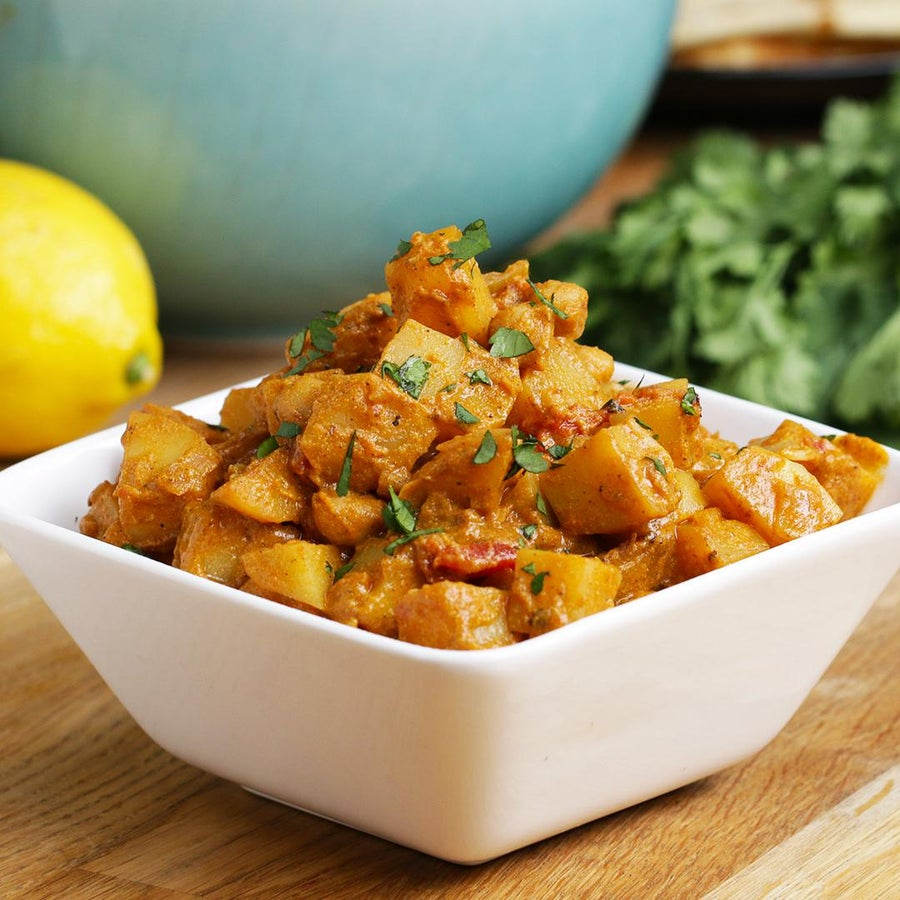Easy-Peasy Potato Curry