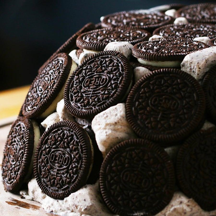 Cookies & Ice Cream Dome Cake