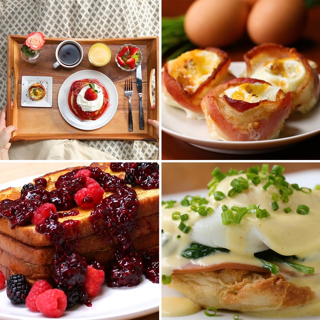 Mother S Day Breakfast In Bed Recipes