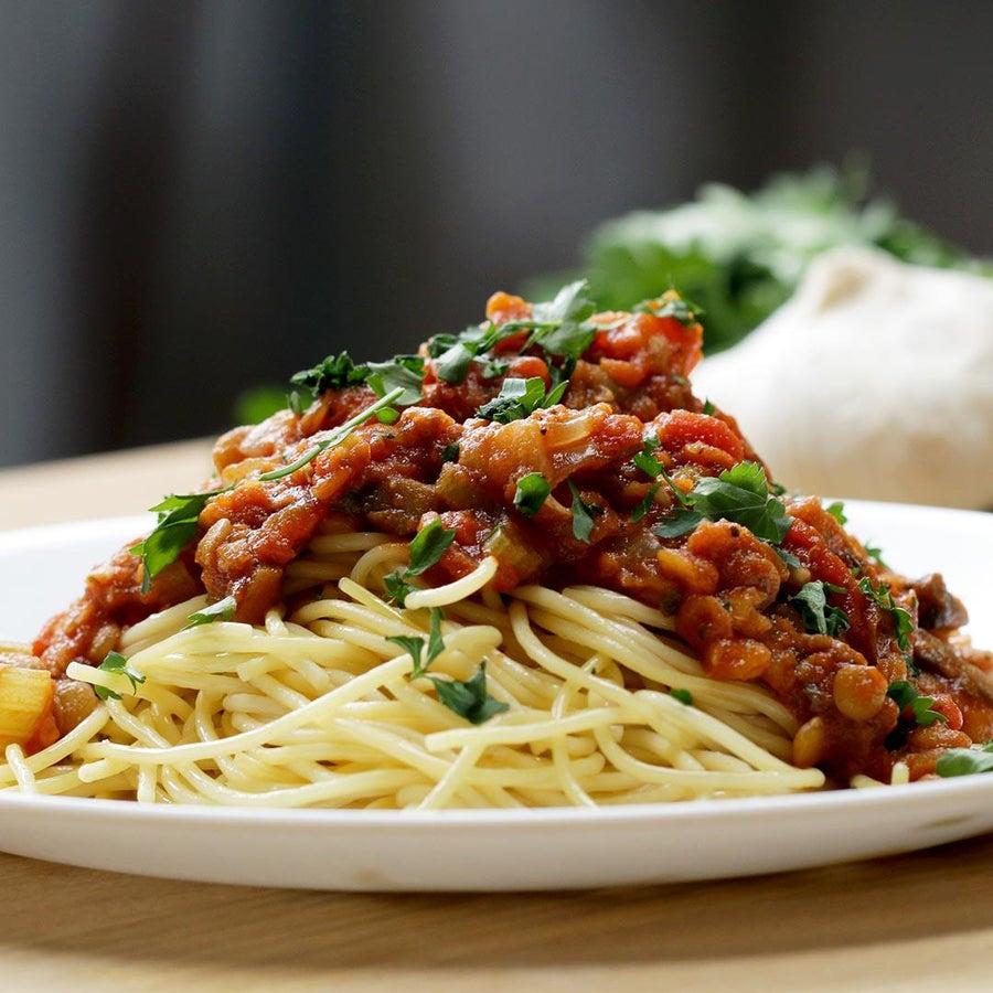 One-Pot Lentil Bolognese