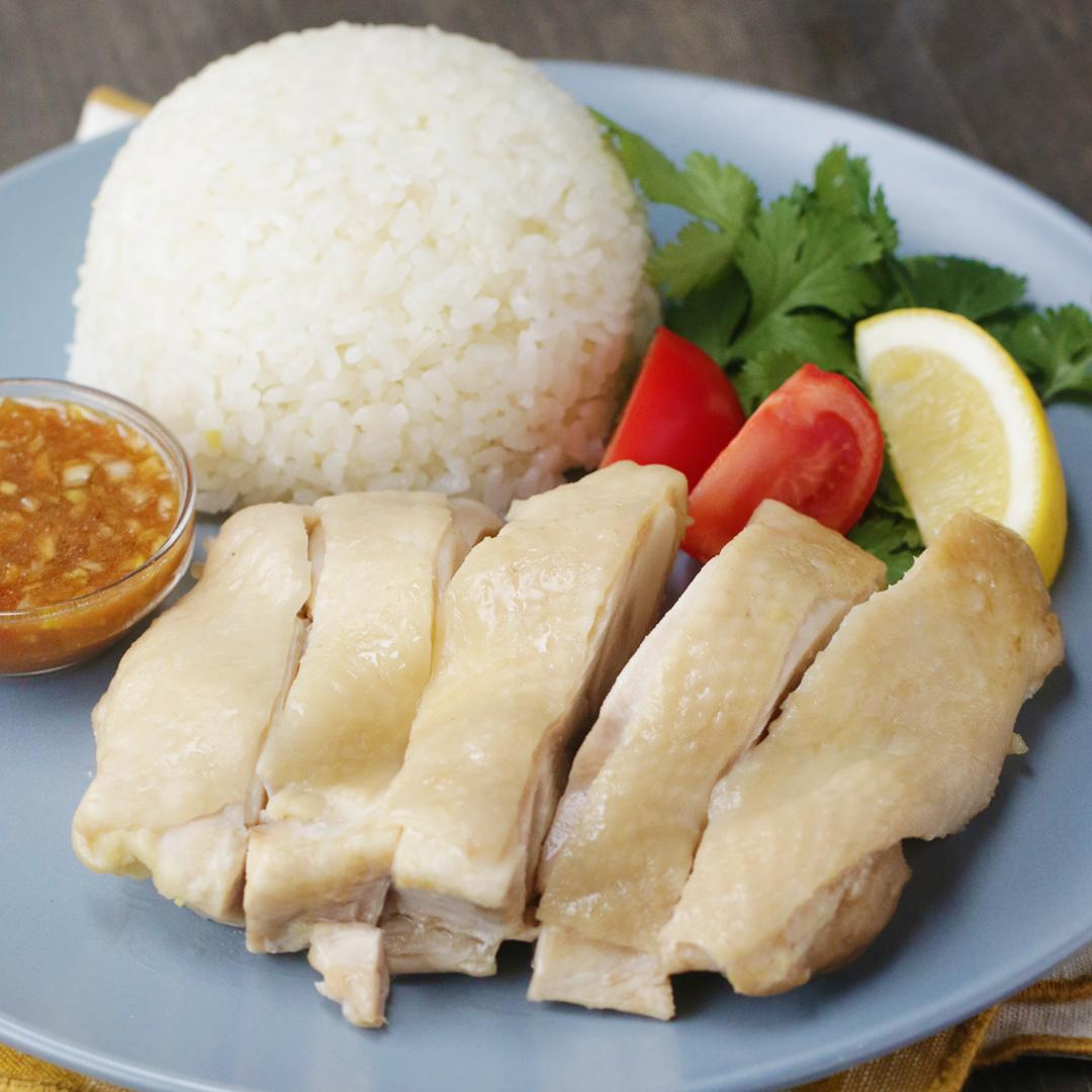 Rice Cooker Asian Chicken Rice Recipe by Tasty
