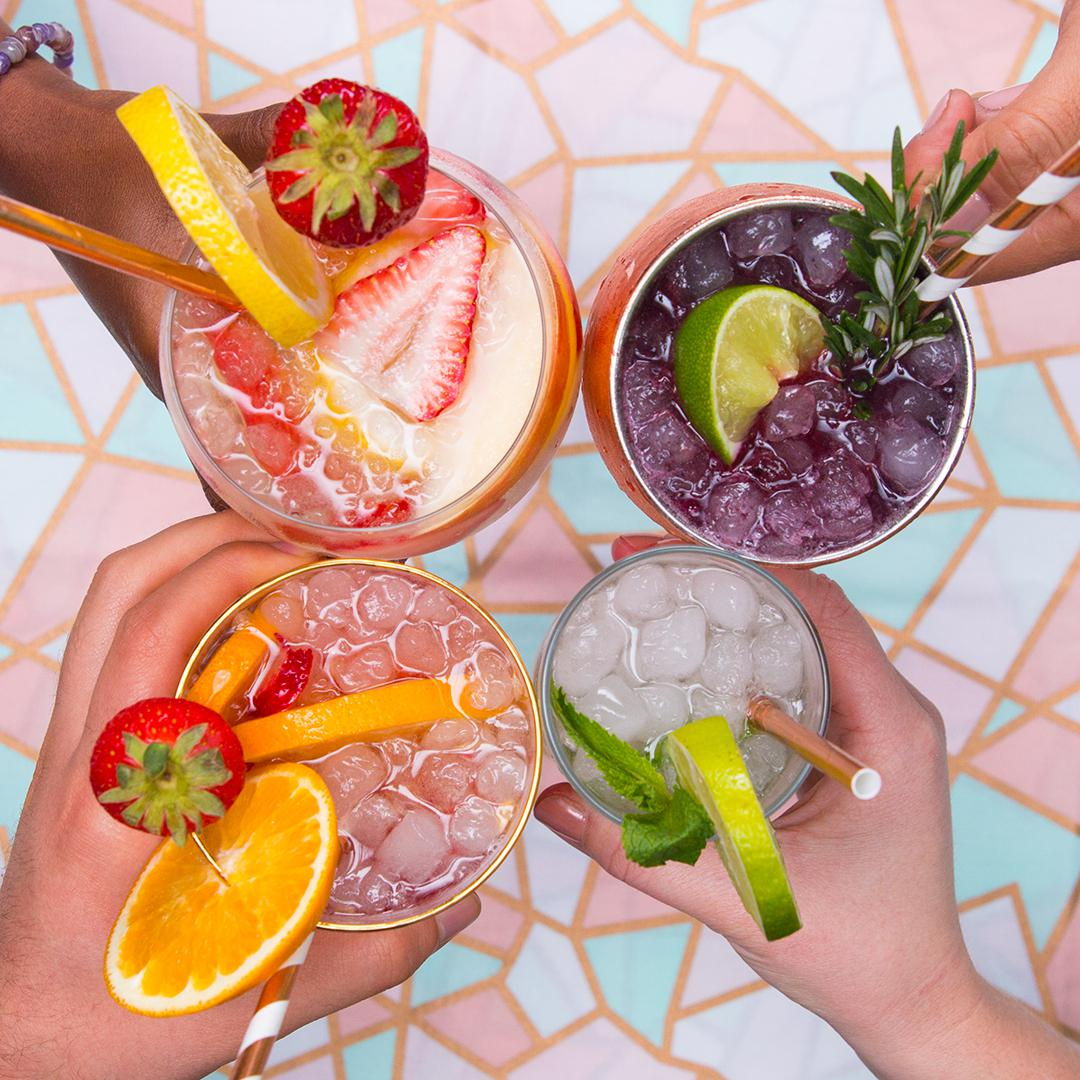 Refreshing Summer Cocktails 4 Ways Recipes