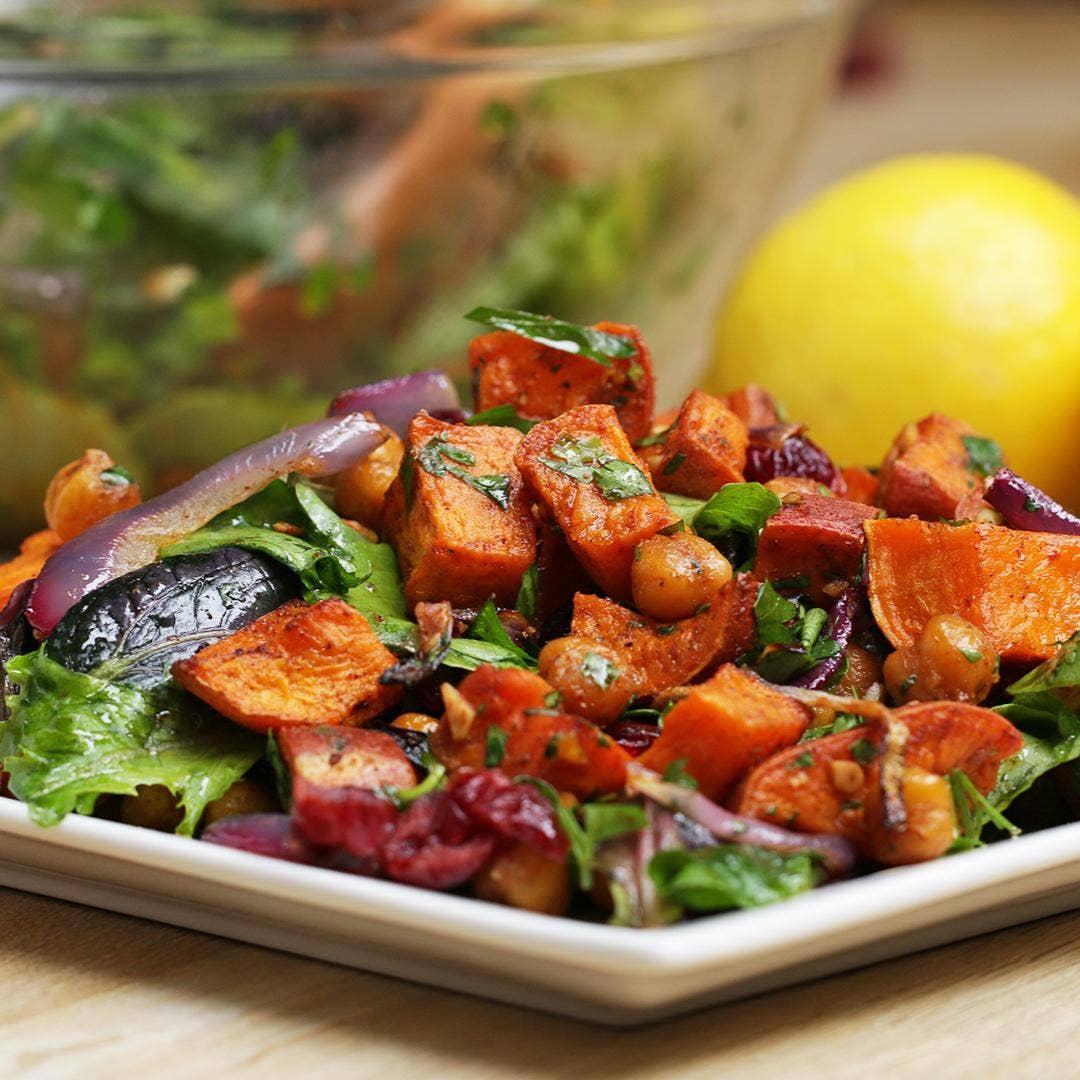 Sweet Potato Salad Recipe With Bacon