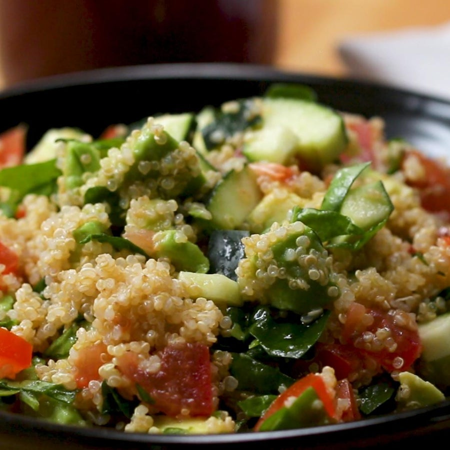 Avocado Quinoa Power Salad