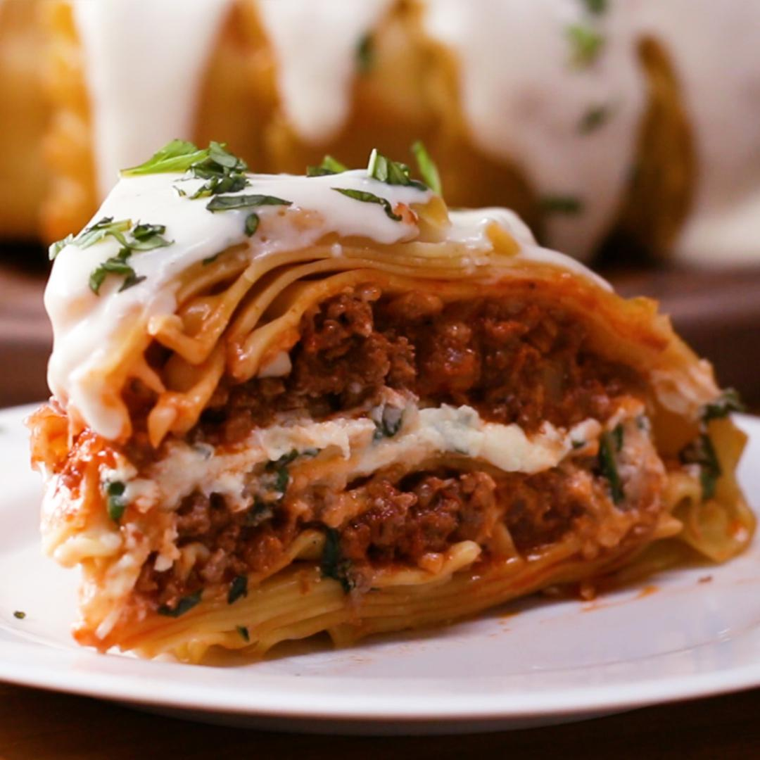 Lasagna Dome Recipe By Tasty