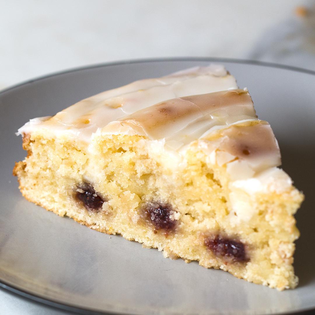 Strawberry Swirl Lemon Cake Recipe By Tasty