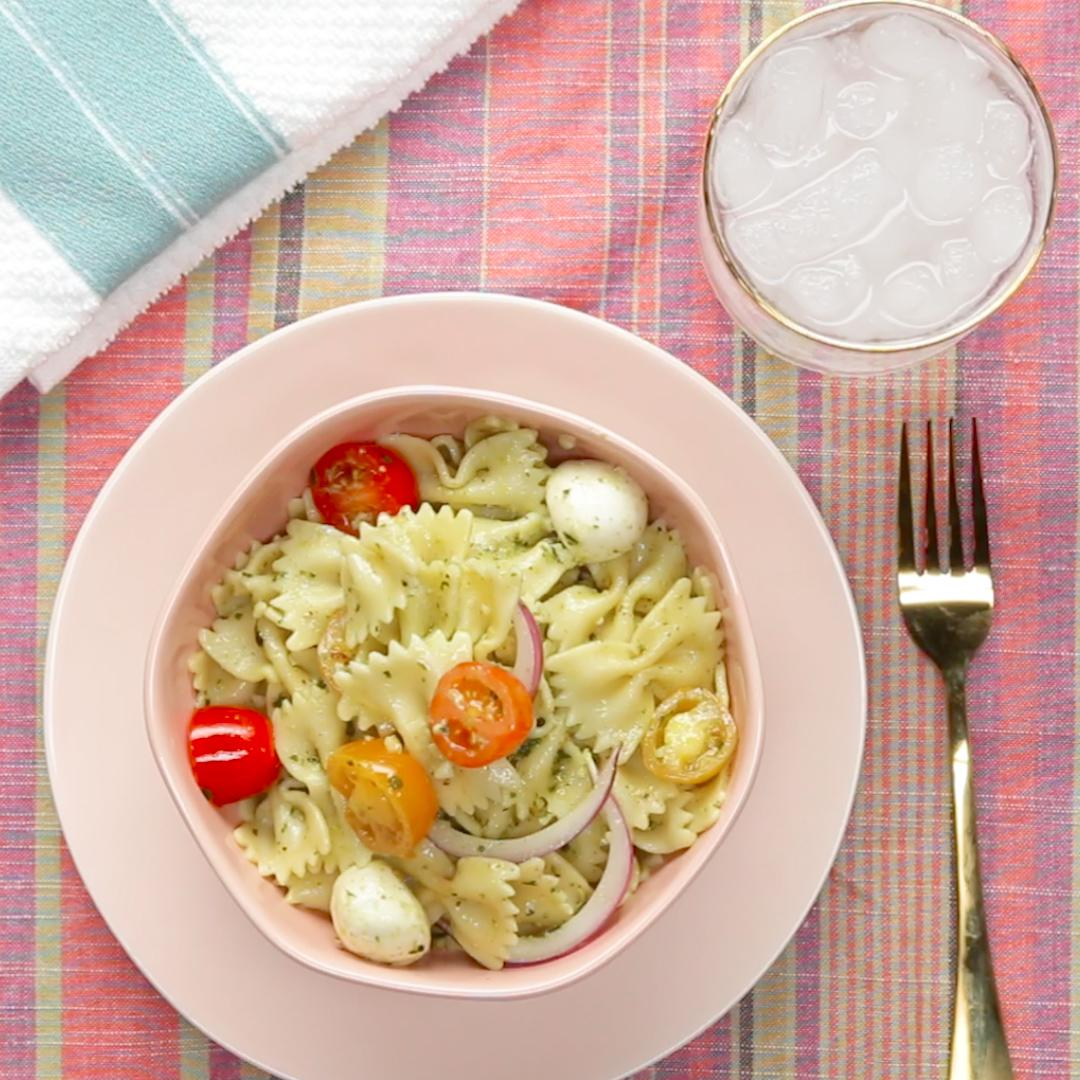 Tasty food videos and recipes pesto garden pasta for the whole family forumfinder Choice Image