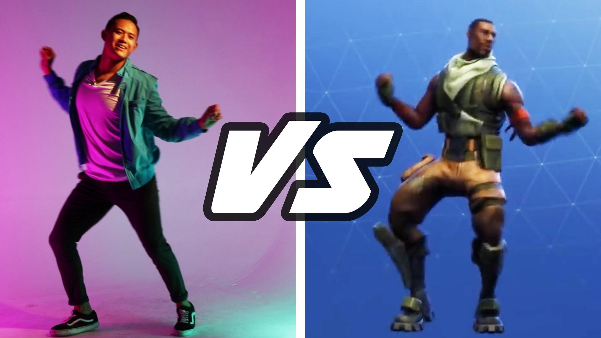 multiplayer by buzzfeed professional dancers try the fortnite dance challenge - buzzfeed fortnite skin quiz