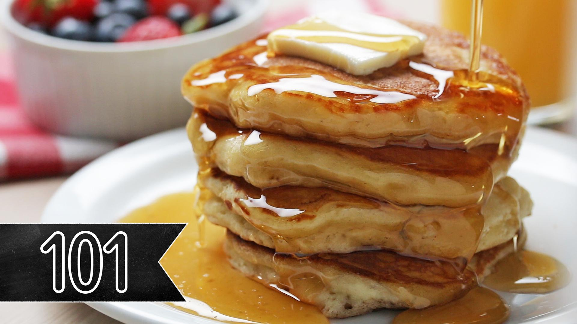 How To Make The Fluffiest Pancakes Recipe By Tasty