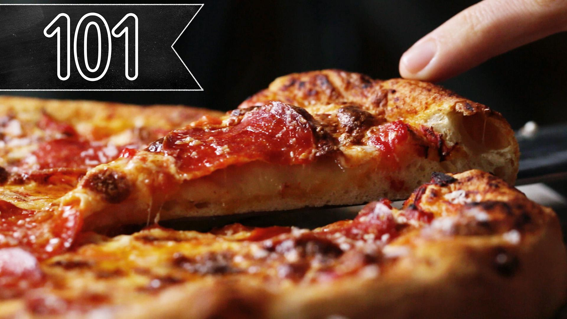 How To Make The Best Homemade Pizza Recipe By Tasty