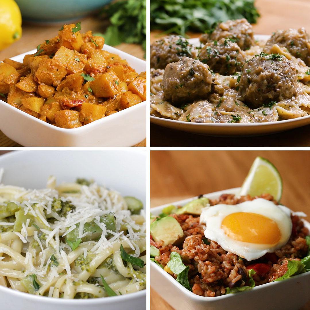 One Pot Vegetarian Meals Recipes