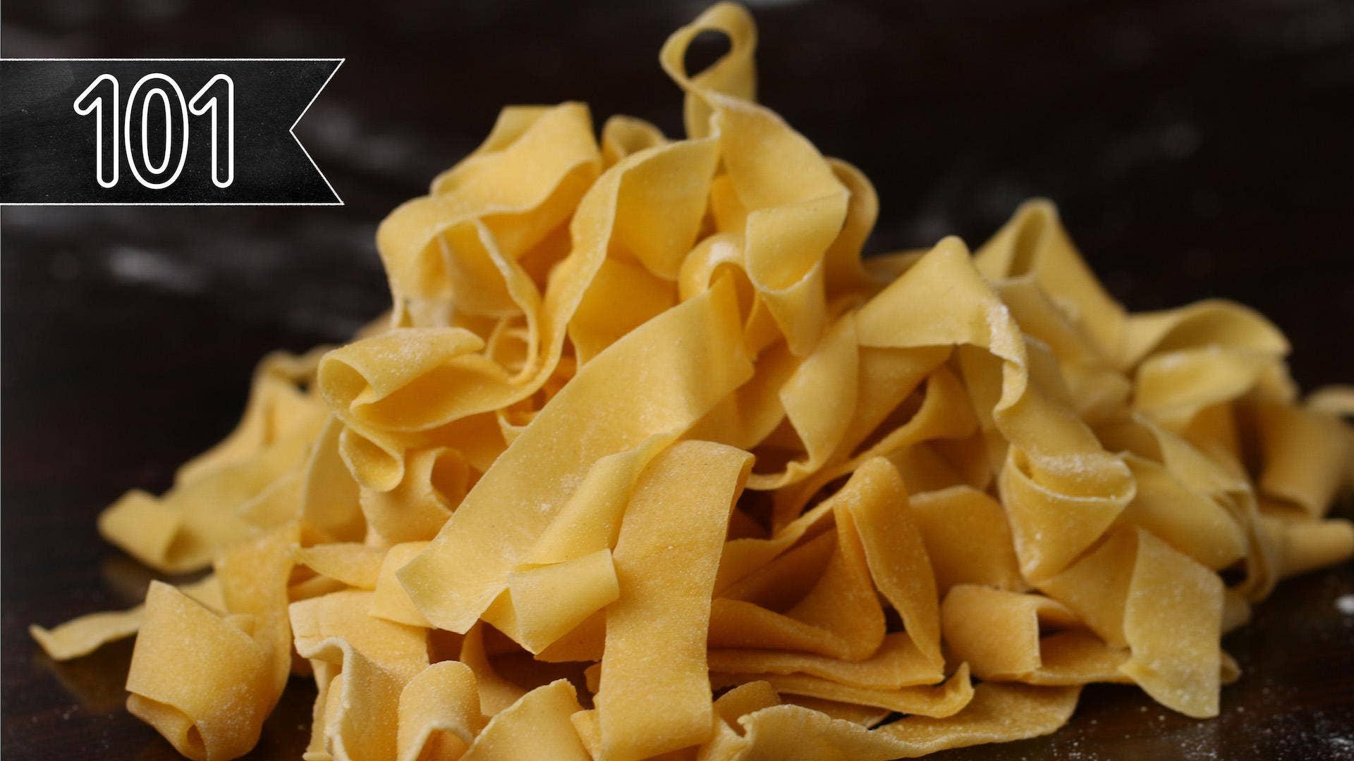 How To Make Handmade Pasta Recipe By Tasty