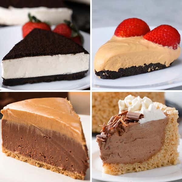Tasty food videos and recipes 4 easy no bake cheesecake forumfinder Gallery