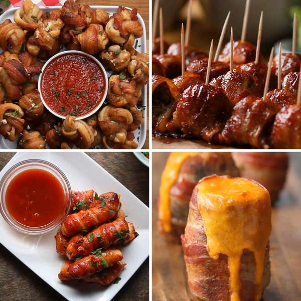 Tasty food videos and recipes 4 easy crispy bacon snacks forumfinder Image collections