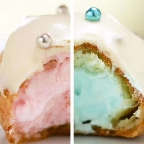 Tasty food videos and recipes gender reveal cream puffs forumfinder Choice Image