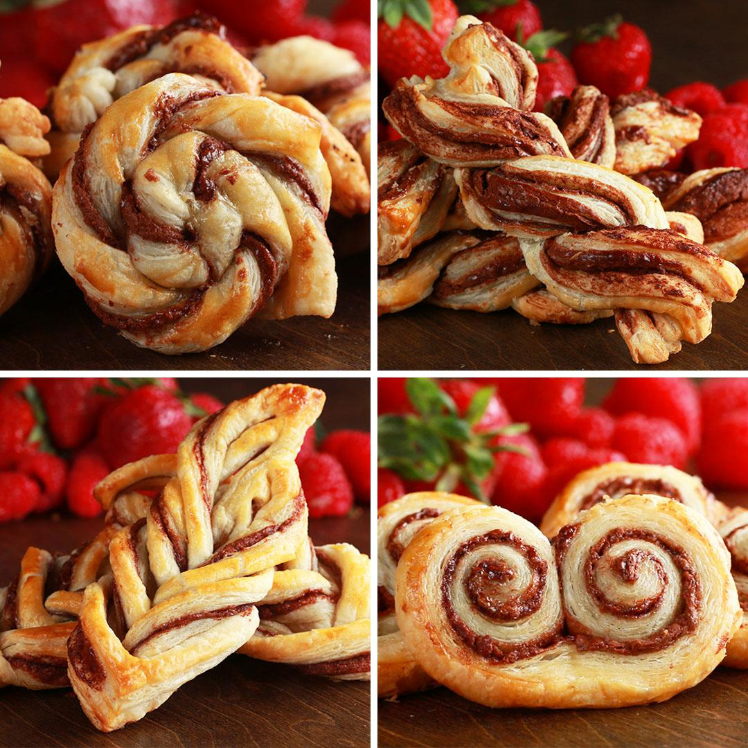 Puff Pastry Decorating Recipes