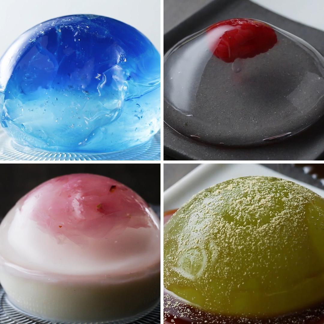 Rain Drop Cake 4 Ways | Recipes_image