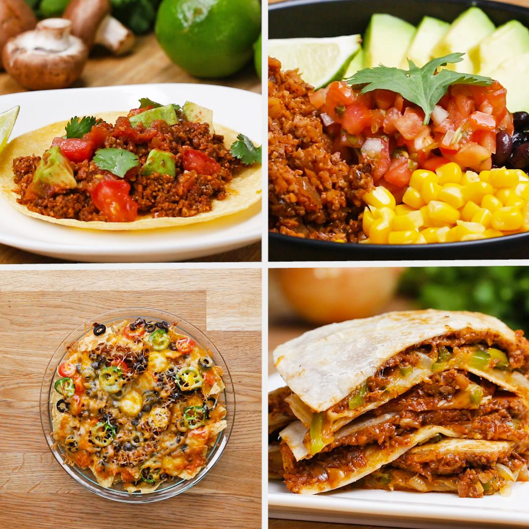 Tasty food videos and recipes cauliflower beefless tacos forumfinder Images