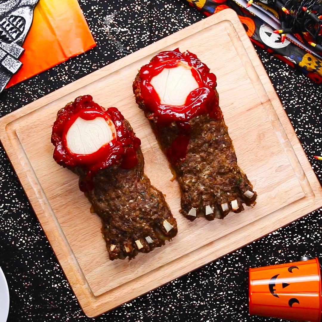 Halloween Feet Loaf Recipe By Tasty
