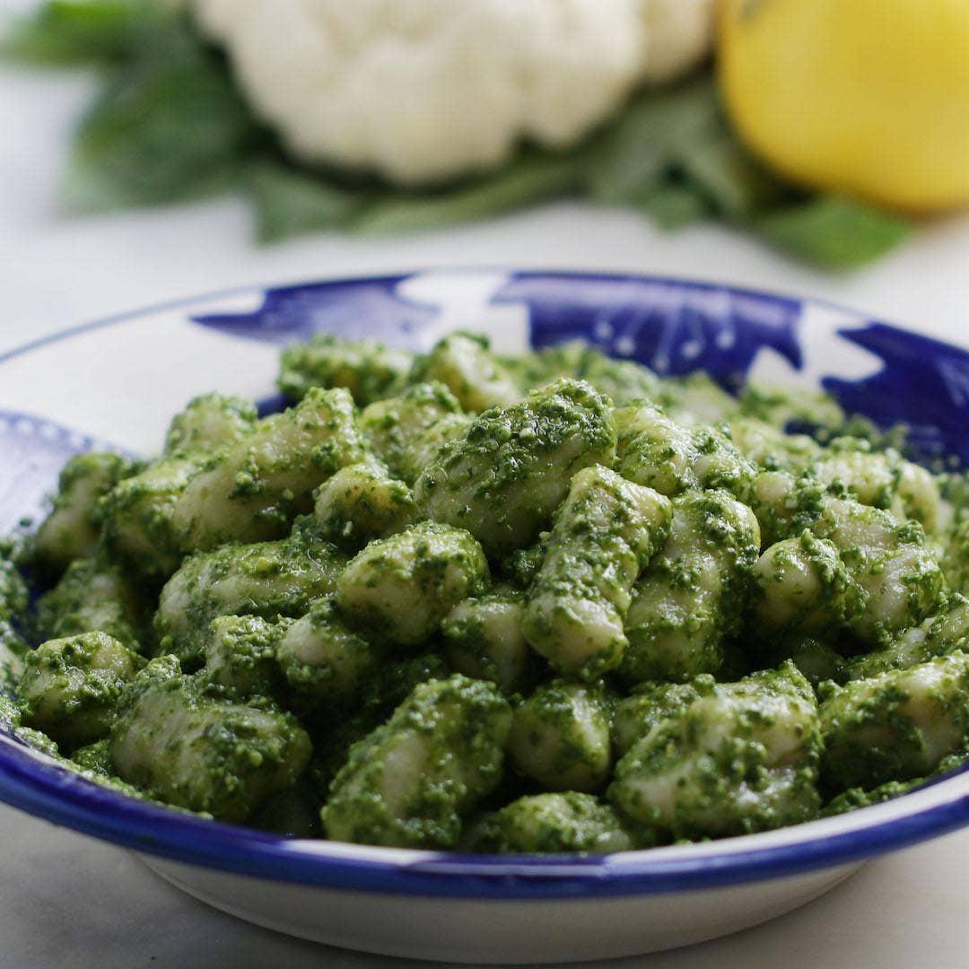 Cauliflower Gnocchi Recipe By Tasty