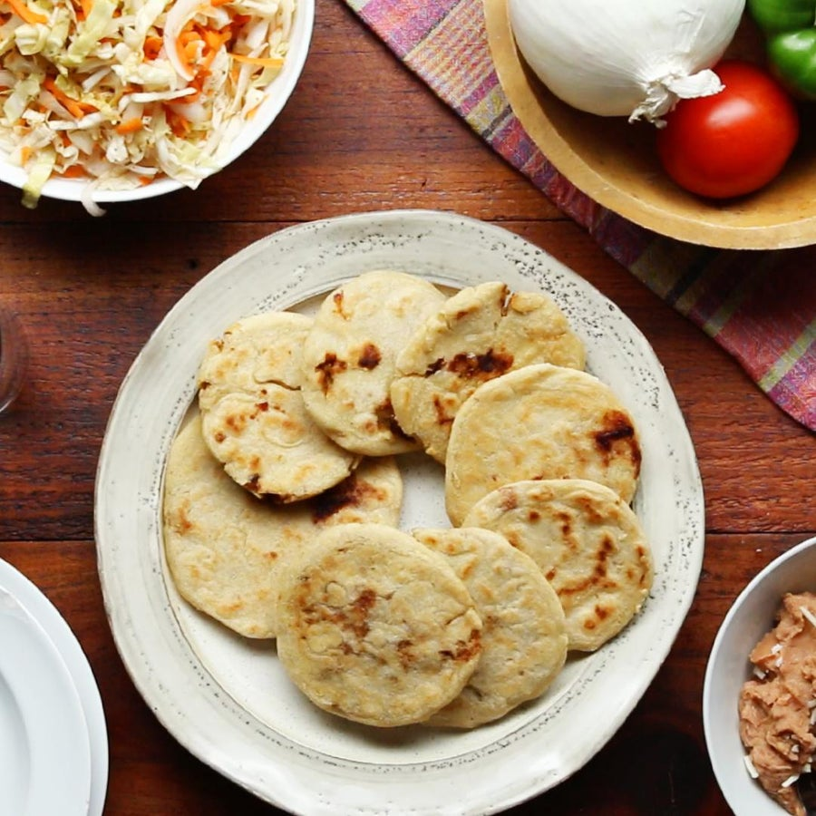 Salvadoran Pupusas As Made By Curly And His Abuelita