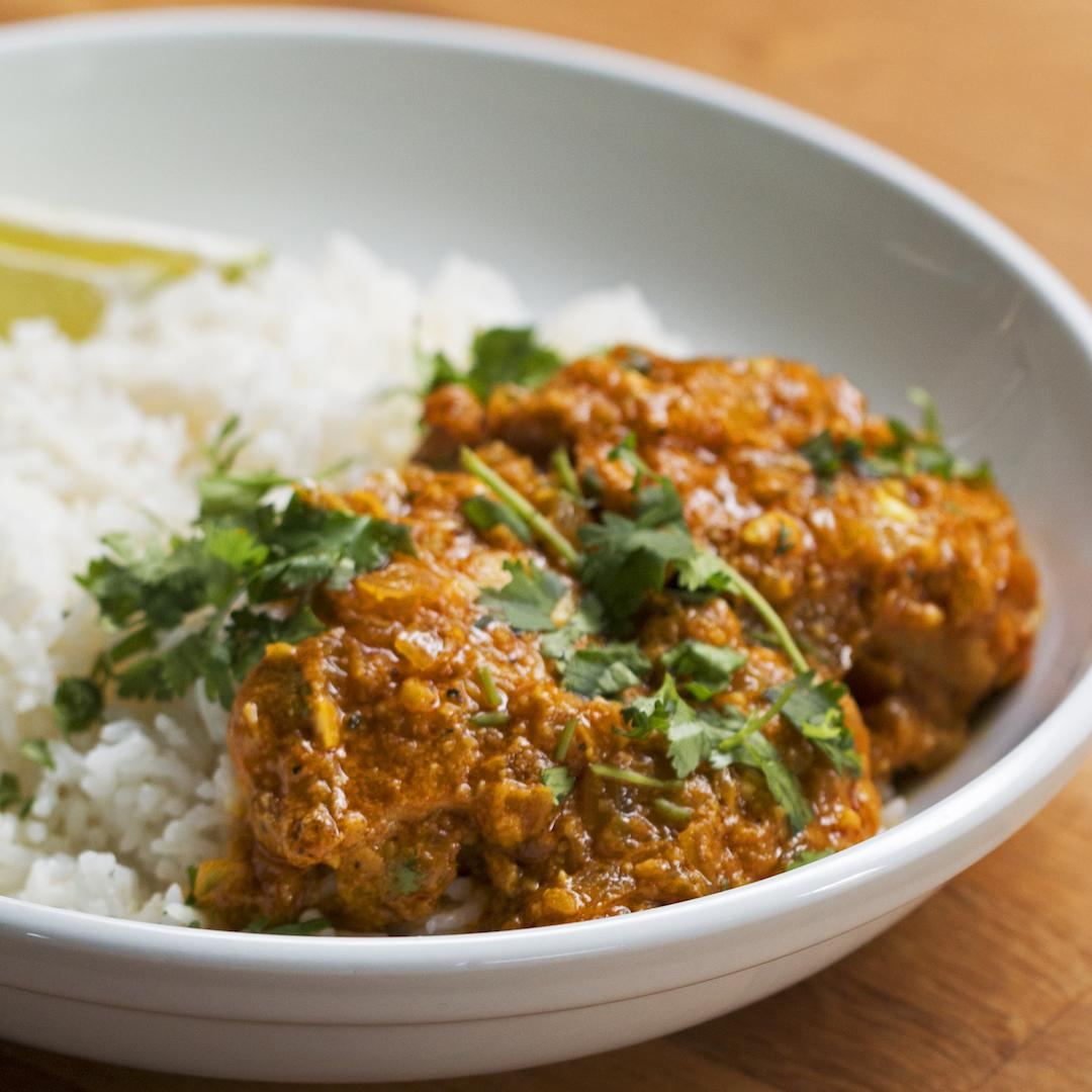 How to make chicken curry rice recipes