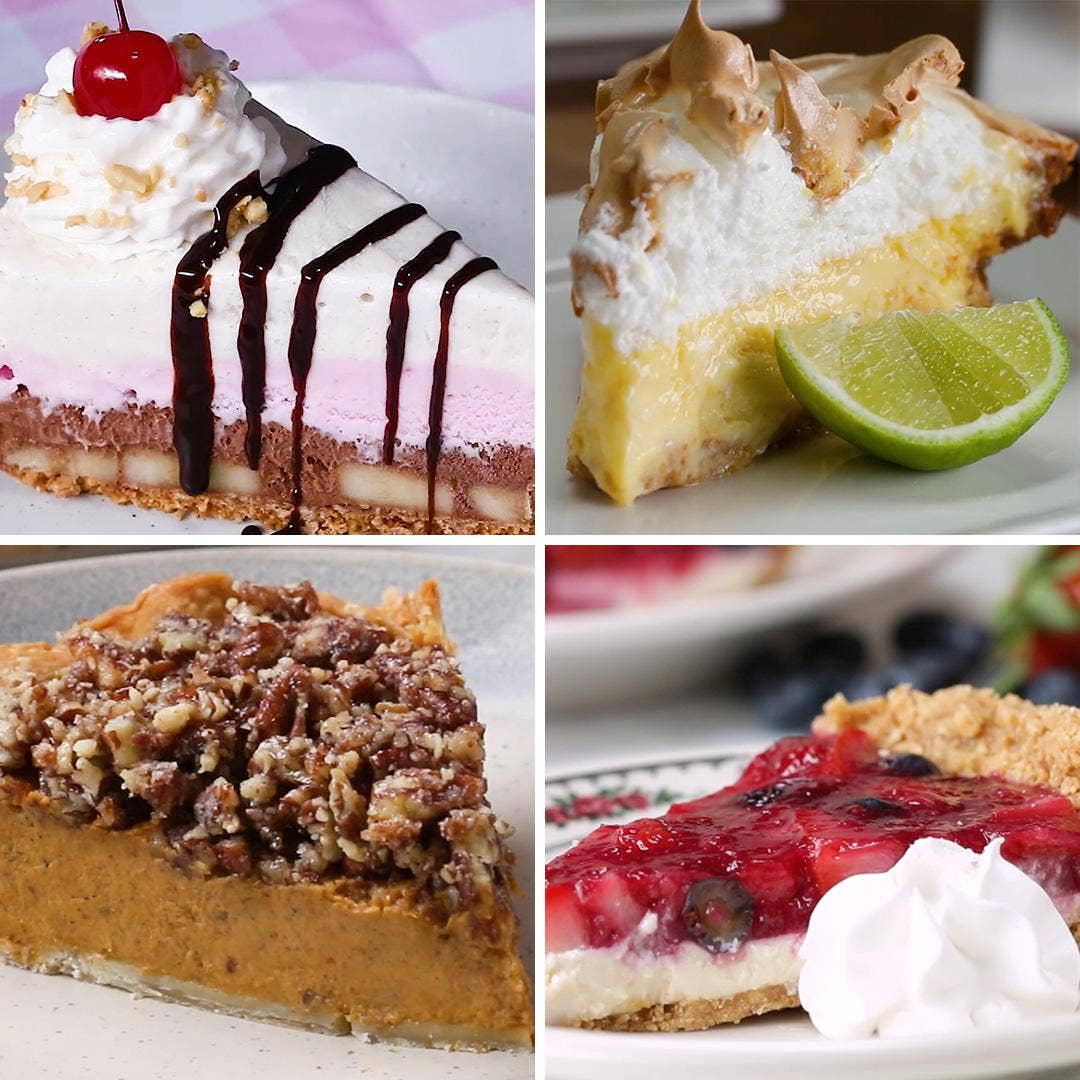 18 Tasty Pie Recipes