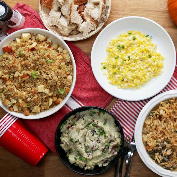 thanksgiving staples if you only have a microwave - Easy Christmas Meals