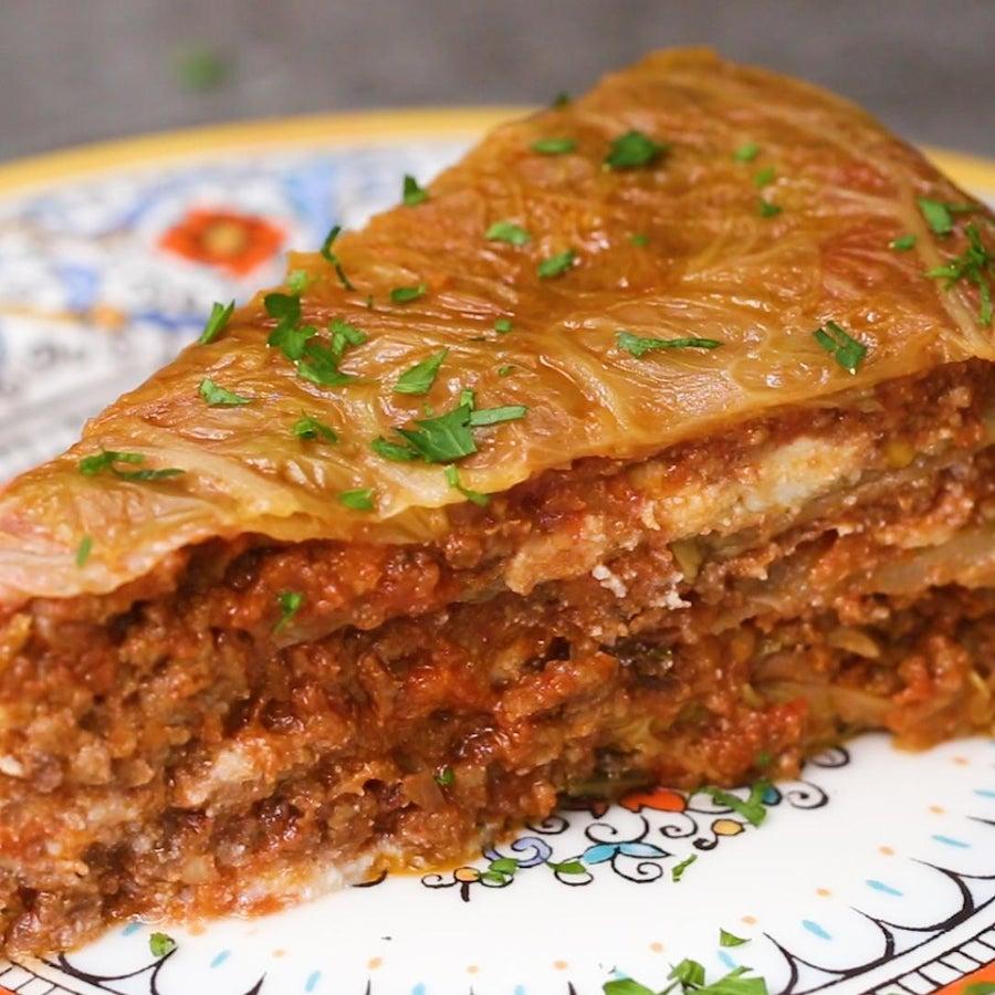 Keto-Friendly Lasagna Dome