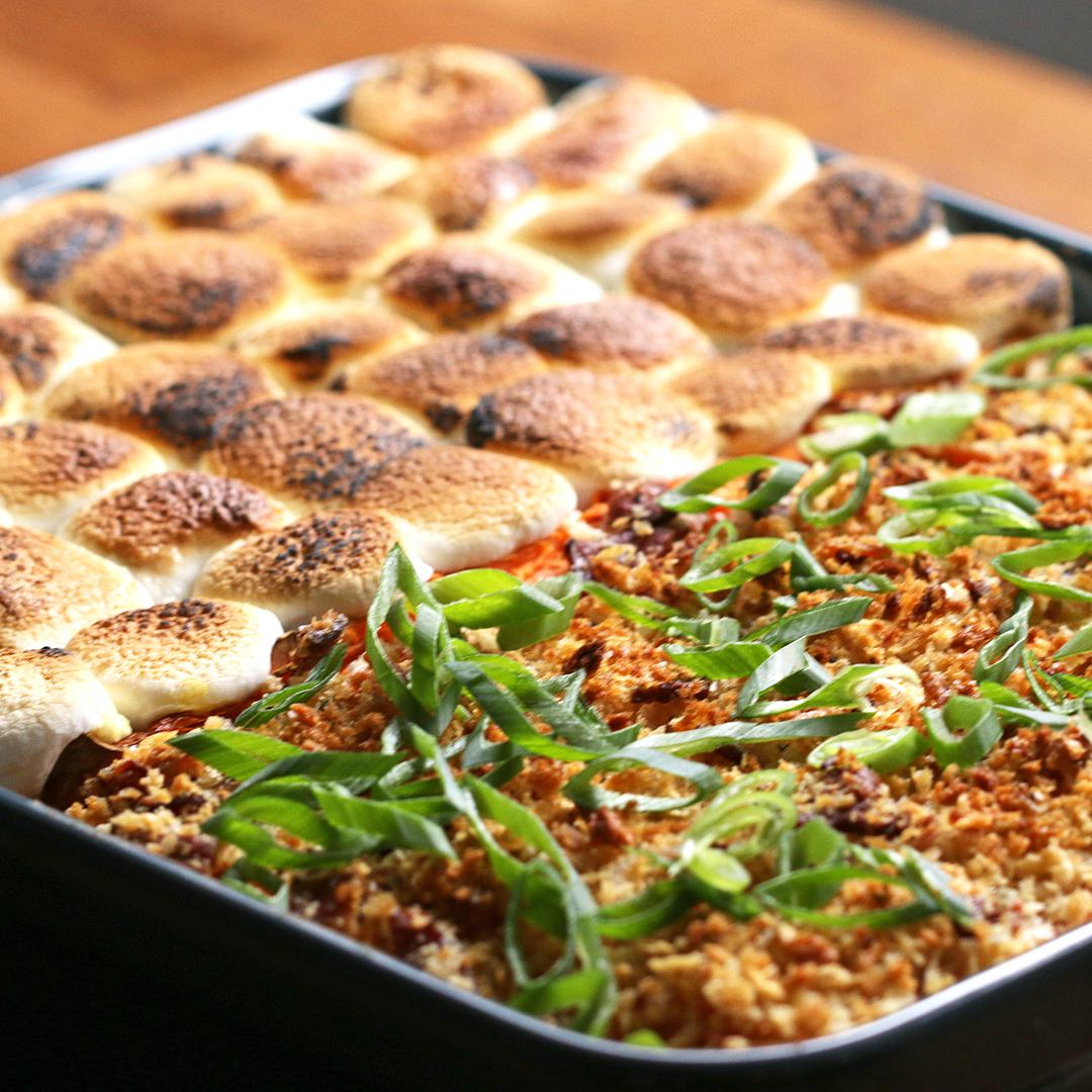 Sweet And Savory Sweet Potato Casserole Recipe By Tasty