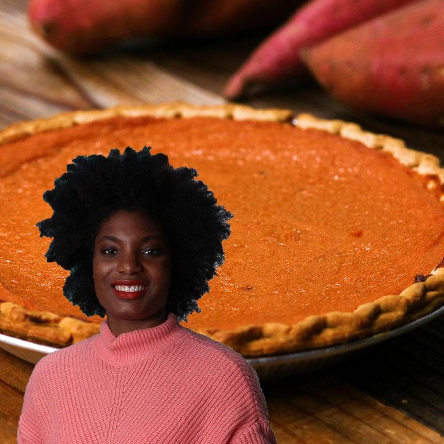 Aunt Vivian's Sweet Potato Pie