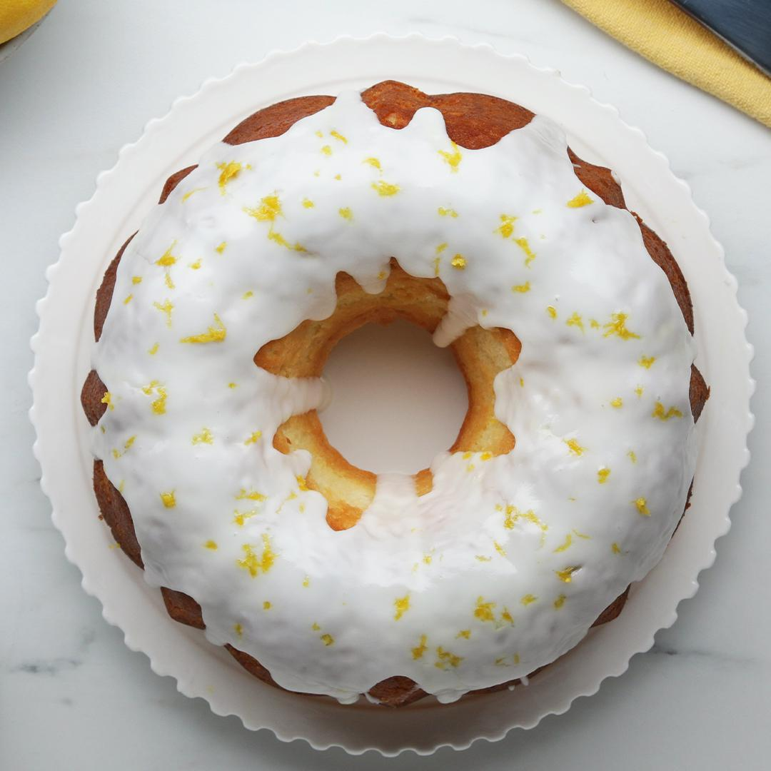 Lemon Bundt Cake Recipe by Tasty