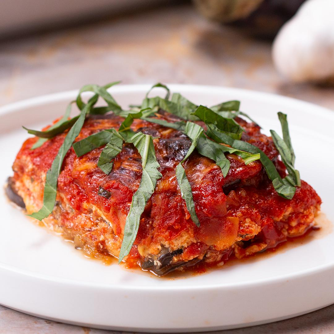 Low Carb Eggplant Lasagna Recipe By Tasty
