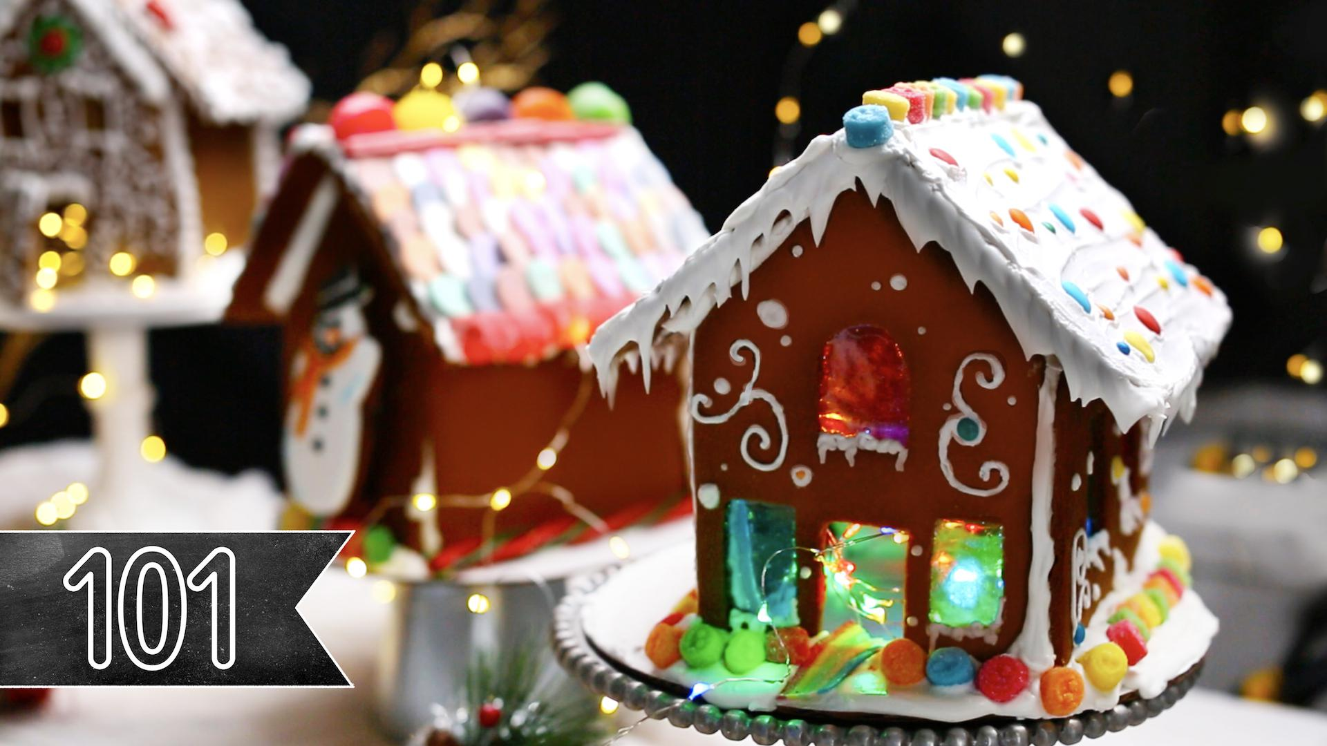 Gingerbread Houses Recipe By Tasty