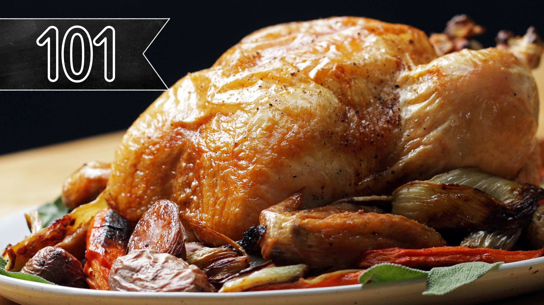 Roast Chicken Recipe By Tasty