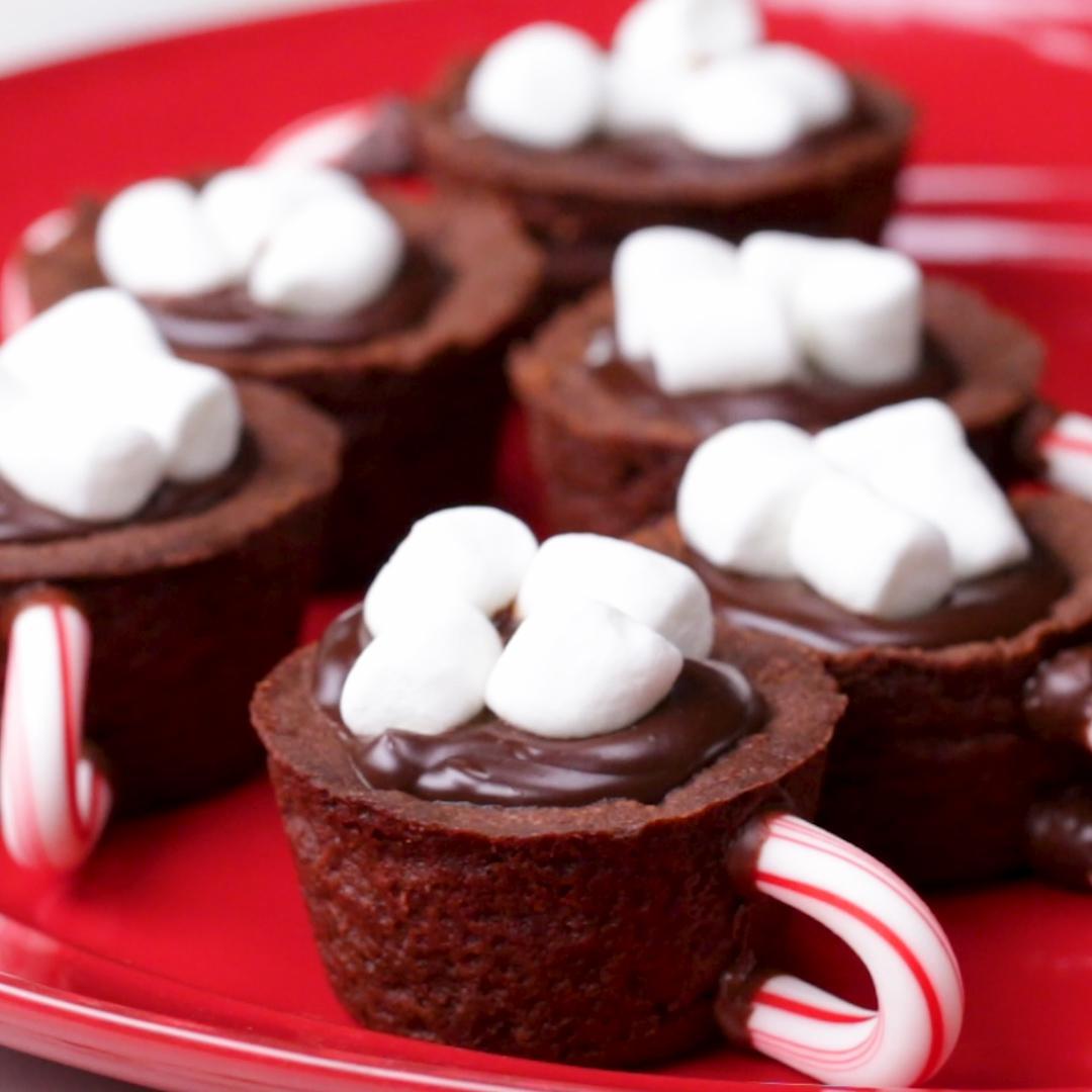Hot Chocolate Cookie Mugs Recipe by Tasty