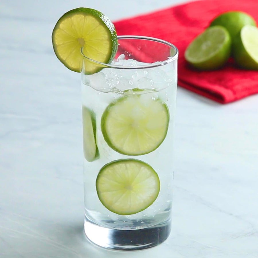 Simple Lime Soda