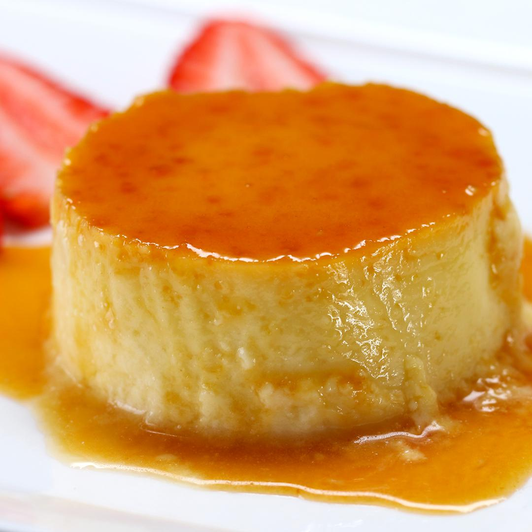 Passion Fruit Flan Recipe by Tasty