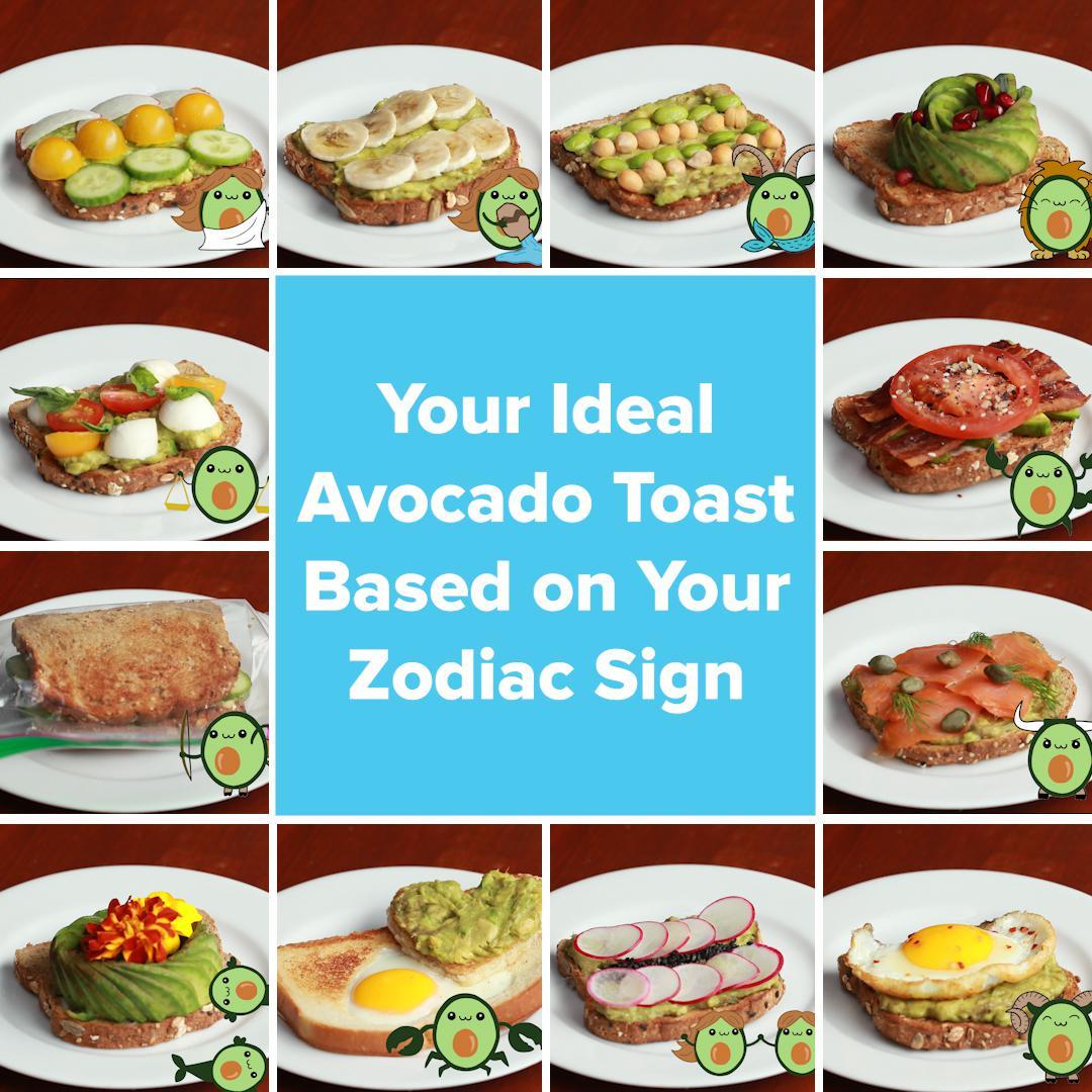 Astrology Avocado Toast   Recipes