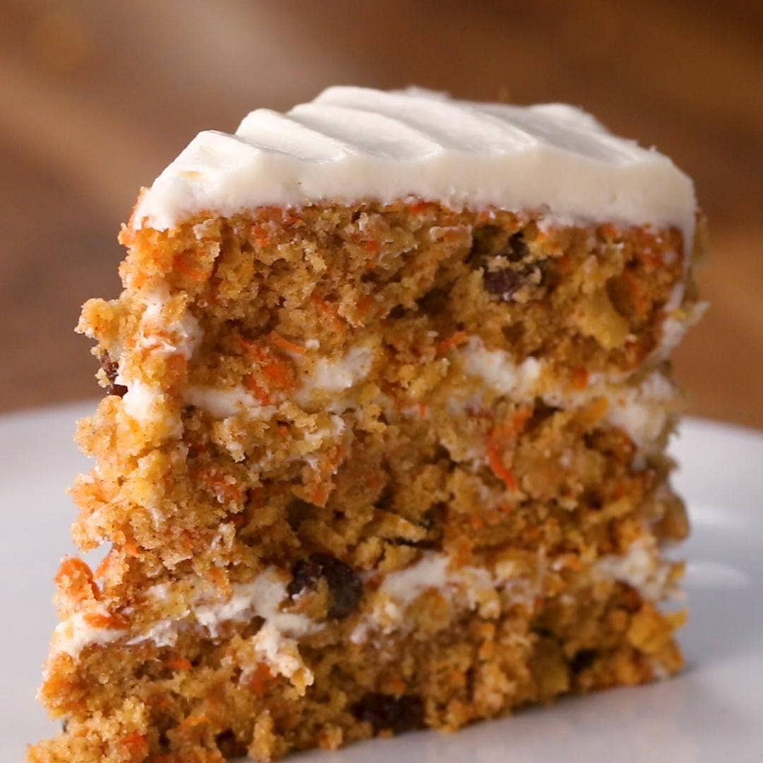 Classic Carrot Cake Recipe By Tasty
