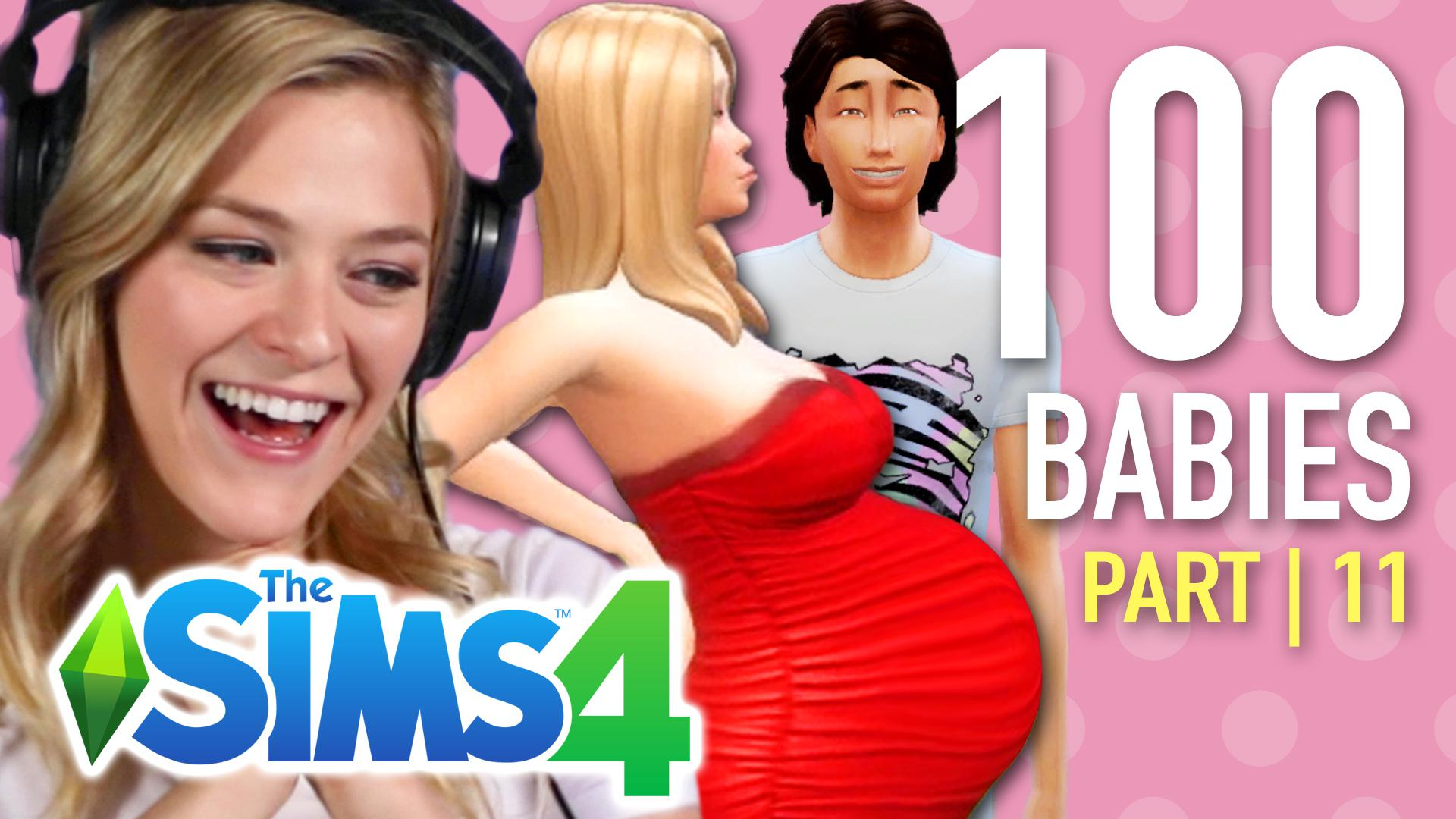 Multiplayer by BuzzFeed - Single Girl Tries The 100-Baby Challenge In The  Sims 4 | Part 11