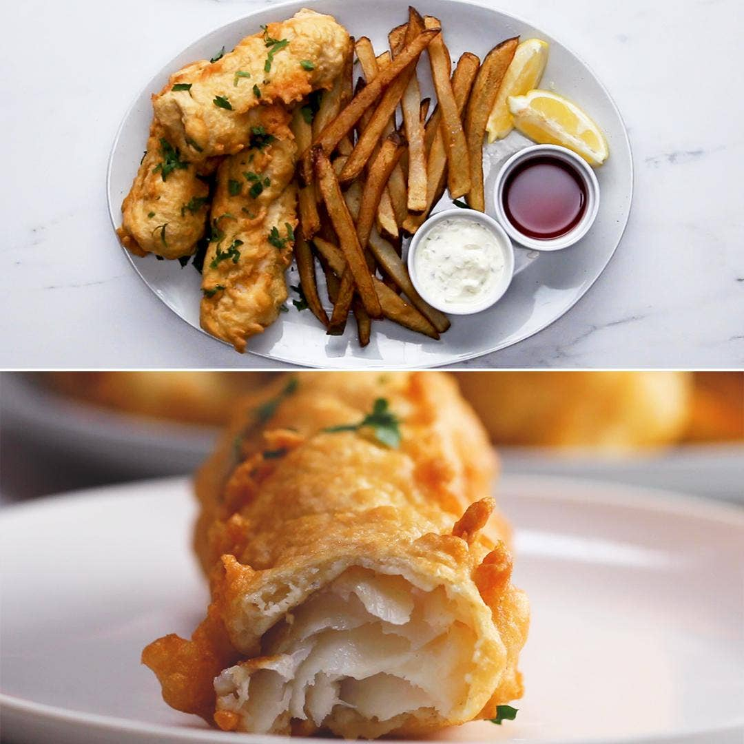 Fish And Chips Recipe By Tasty