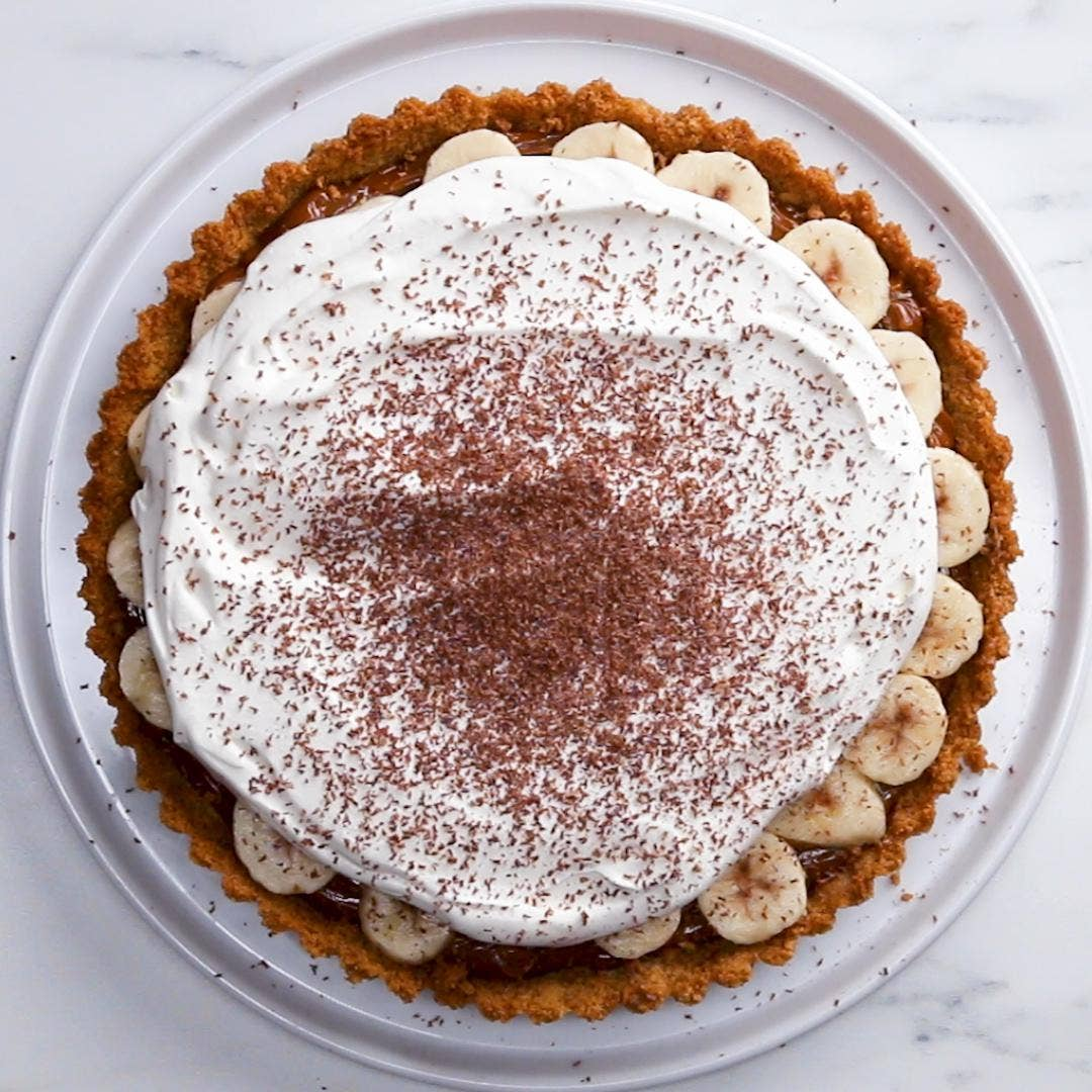 Banoffee Pie Recipe By Tasty