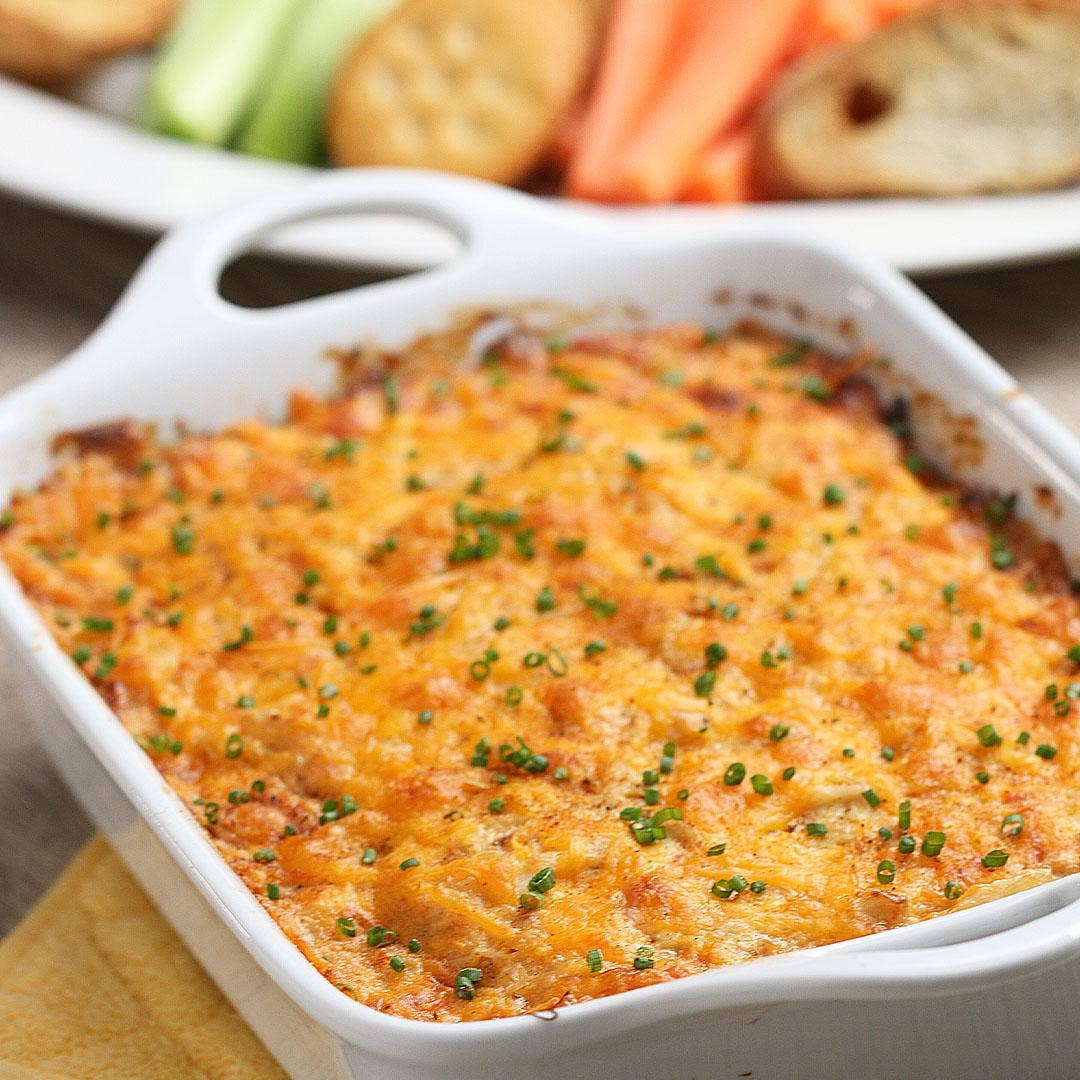 Classic Hot Crab Dip For A Crowd Recipe By Tasty