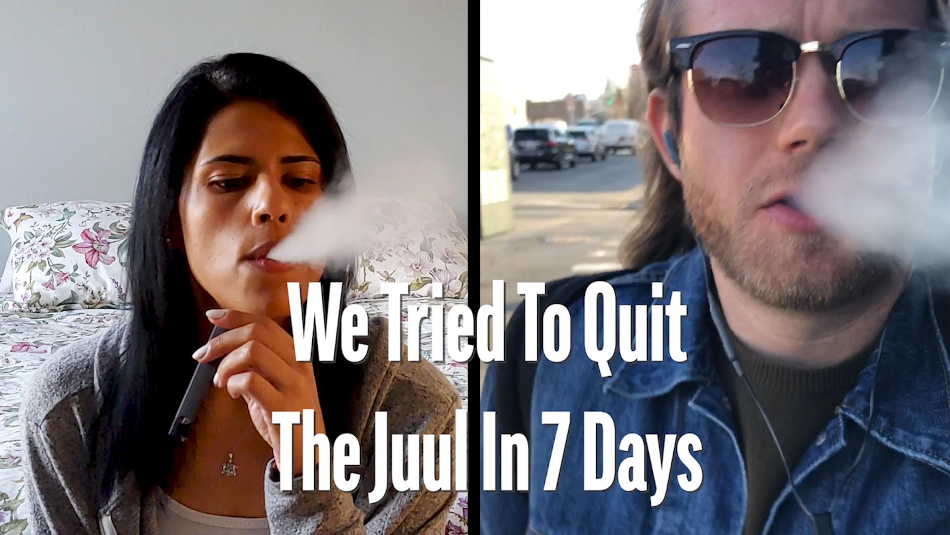 BuzzFeed Video - We Tried To Quit The Juul In 7 Days