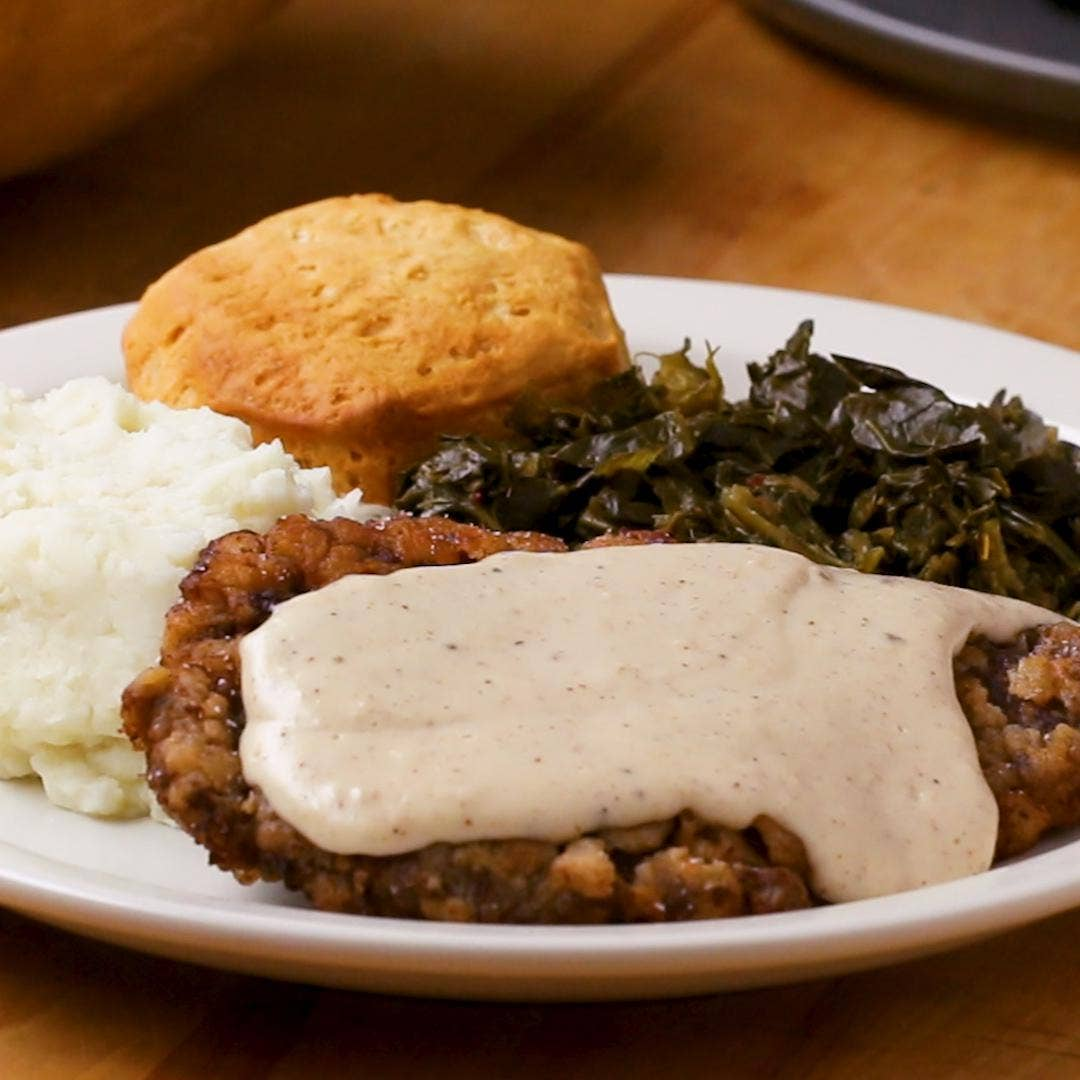 Country Fried Steak And Gravy Recipe By Tasty