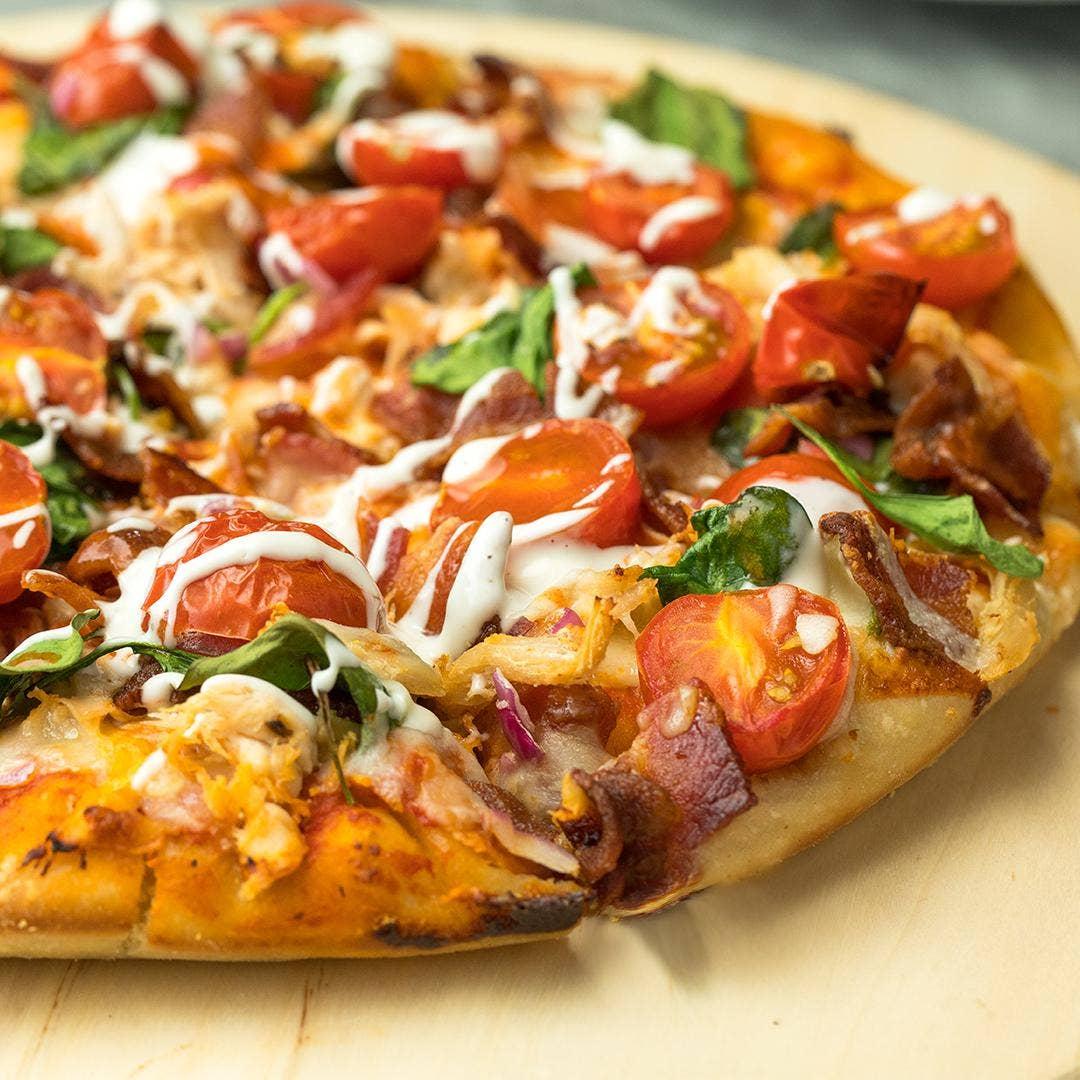 Spicy Chicken Pizza Recipe by Tasty