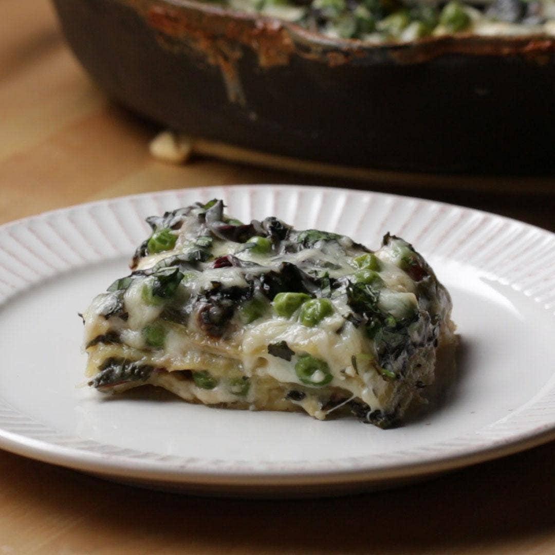 Summer Stove-Top Lasagna Recipe by Tasty